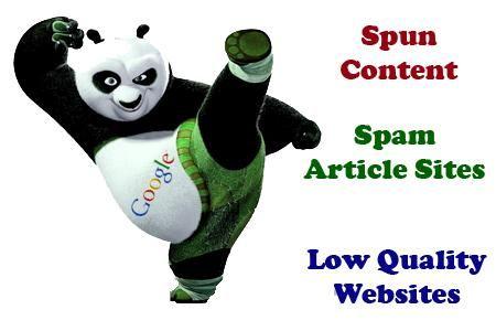 Google Update Panda Quality Sites