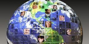 social network on the world